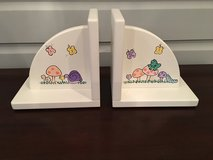 Deocrative Wooden Bookends for Girl's Room in Naperville, Illinois