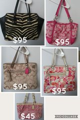Make Offer 5 Authentic Coach Purses one owner in Kingwood, Texas