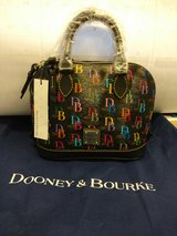 NWT Dooney and Bourke DB75 Bitsy Bag DM22ABB in Black/Multi in Fort Rucker, Alabama