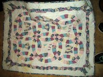 Double Wedding Ring Baby Quilt. in Alamogordo, New Mexico