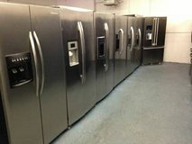 Stainless Steel Double door and Top Bottom Refrigerators in Camp Pendleton, California