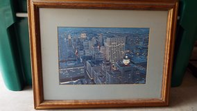Old Houston Skyline Picture in Conroe, Texas