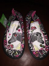 Zebra print shoes in The Woodlands, Texas