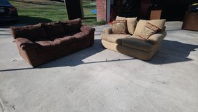 Couch And Love Seat! in Byron, Georgia