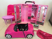 Barbie Closet, table, and car in Okinawa, Japan