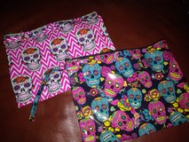 Sugar Skulls pouches in Spring, Texas