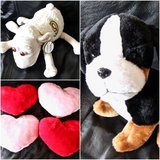 Heart Pillows/ Plush Toys. Set of 6. in Okinawa, Japan
