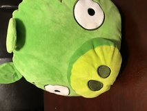 Angry birds stuffed pig in Fort Campbell, Kentucky