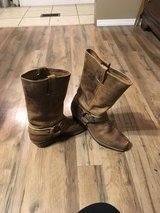 Frye leather boots 10M in Cherry Point, North Carolina