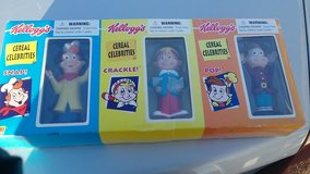 Kellogg's cookie jar and advertising figures in Rolla, Missouri