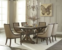 Chateau Dining Set - NEW MODEL including delivery - see VERY IMPORTANT below in Spangdahlem, Germany
