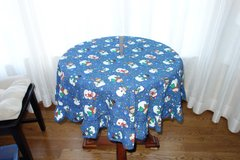 Christmas Tree Skirt - Blue with Snowman in Cherry Point, North Carolina