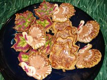 Organic Vegan Sugar Cookies with Royal Icing in Yucca Valley, California