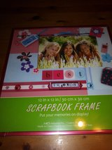 Scrapbook page frame in Houston, Texas