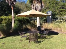 Wrought Iron Patio 6 Pc in Beaufort, South Carolina