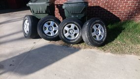 Set Of Nissan 16 Inch Rims And Tires! in Byron, Georgia
