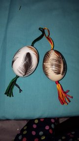 Blown Egg Ornaments in Fort Drum, New York