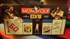 New in box and still wrapped, Elvis Monopoly in Travis AFB, California
