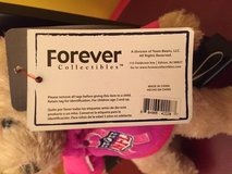"NFL BEARS plush teddy bear 9""  PINK AWARENESS FOREVER COLLECTIBLE in Morris, Illinois"