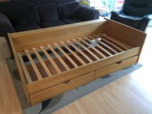 Single/Twin Wood Bed with drawers - 90/200 sized in Camp Pendleton, California