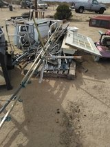 Free misc metal and wood in Yucca Valley, California