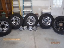 Dodge Ram 2500 Tires and Wheels 8 lug in Beaufort, South Carolina