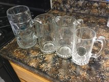 Large Glass Drinking Mugs in Travis AFB, California