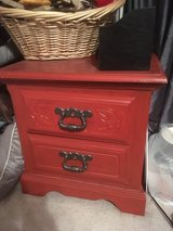 Small bedside table in Byron, Georgia