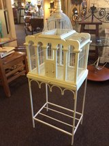 Hand Painted Bird House/Terrarium with Base in Beaufort, South Carolina