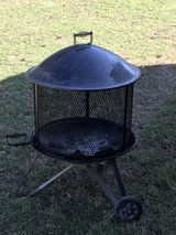 Portable patio fireplace in Beaufort, South Carolina