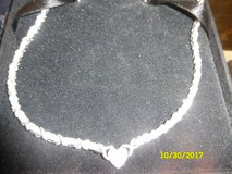 Sterling Silver w Diamond Necklace in Fort Campbell, Kentucky