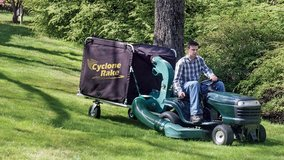 CYCLONE PRO Lawn Rake in Camp Lejeune, North Carolina
