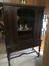 Beautiful Antique China Cabinet (Matching  buffet also available) in Byron, Georgia