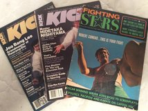 Fighting Stars & KICK Illustrated Magazines in Byron, Georgia