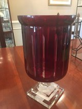 Vase crystal red in Fort Campbell, Kentucky