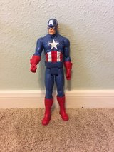 Captain America action figure in Kingwood, Texas