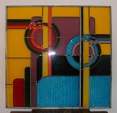 Reduced Price Art Deco stained glass panels in Alamogordo, New Mexico