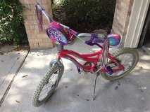 Child's Pink & Flower Bicycle in Kingwood, Texas
