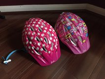 Two Barbie-themed Children's Bicycle Helmets in Kingwood, Texas