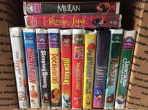VHS: 12 Disney Movie LOT in Warner Robins, Georgia