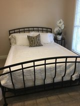 Black Metal Bed Frame in Fort Campbell, Kentucky