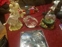 Knick knacks and coaster in Fort Riley, Kansas
