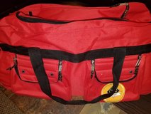 Diplomat travel duffel bag with wheels in Naperville, Illinois