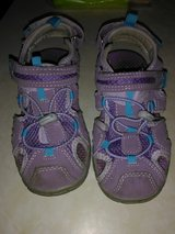 Toddler girls purple sandals in Fort Campbell, Kentucky