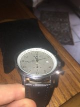 New Bitburger Men's Watch w/ leather band in Ramstein, Germany