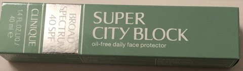NIB Clinique Super City Block 40 SPF in Okinawa, Japan