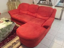 RED COUCH SET in Ramstein, Germany