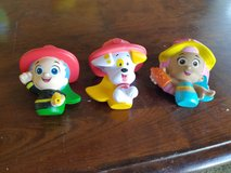 Bubble Guppies Bath Toys**Never used** in Fort Riley, Kansas