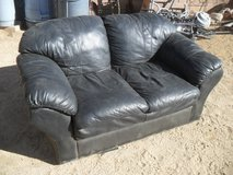 ==  Leather Loveseat  == in Yucca Valley, California