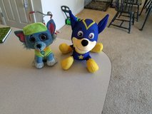 Chase Super Pup and Rocky Ty beanie boo**Stuffed animals in Fort Riley, Kansas